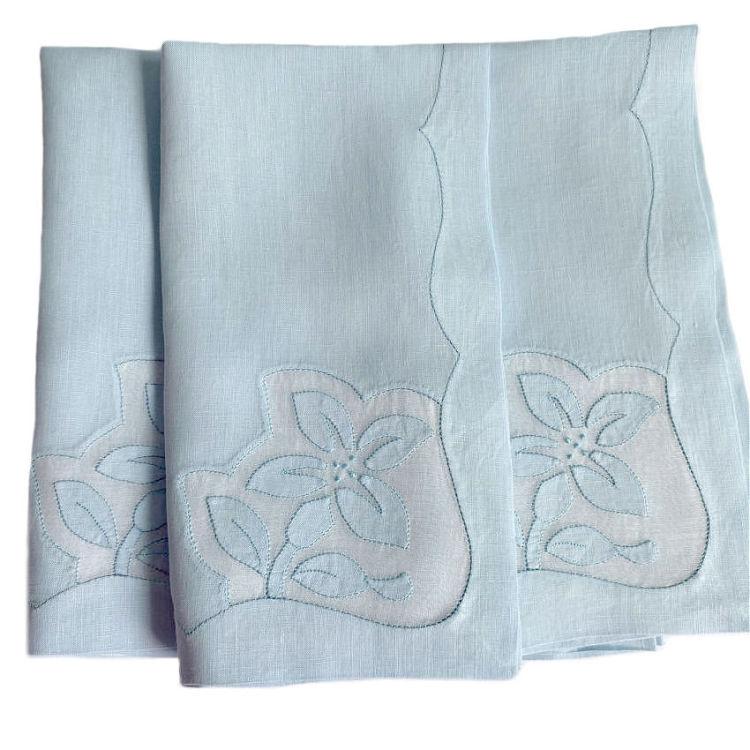antique Madeira napkins