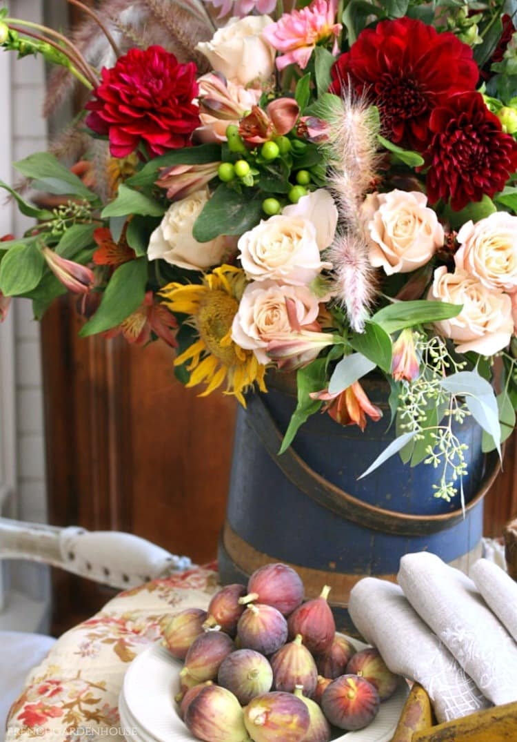 French Autumn Floral Inspiration