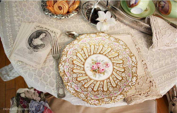 Roses for Marie Antoinette tea