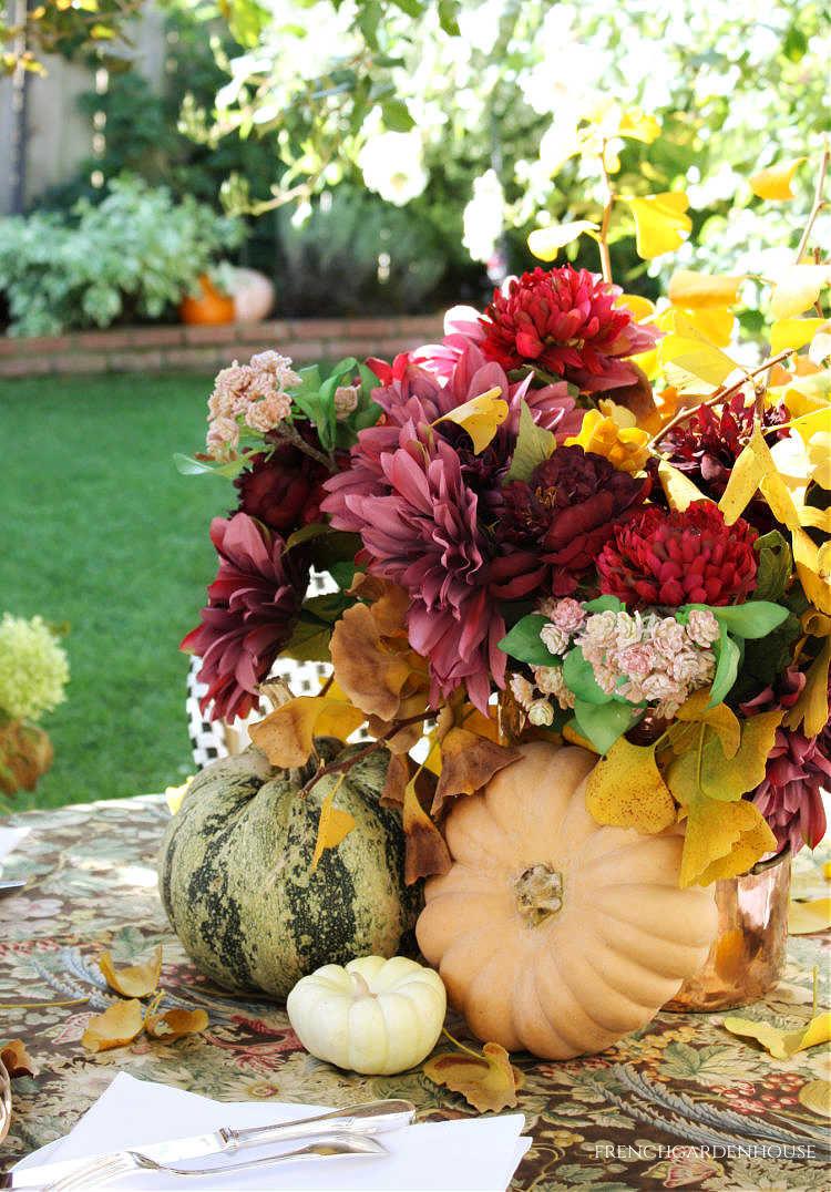 Autumn Al Fresco Entertaining