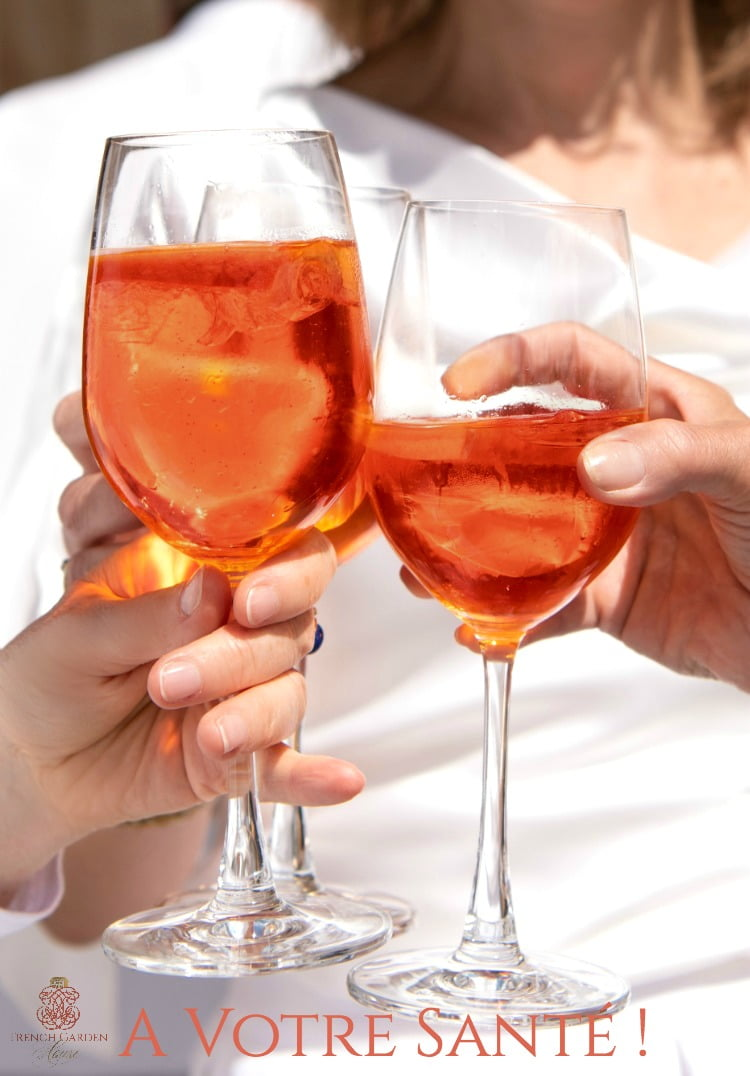 Autumn Aperol Cocktail Spritz