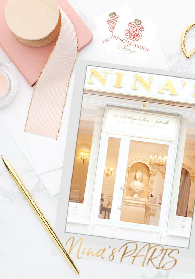 nina's PARIS Tea Salon