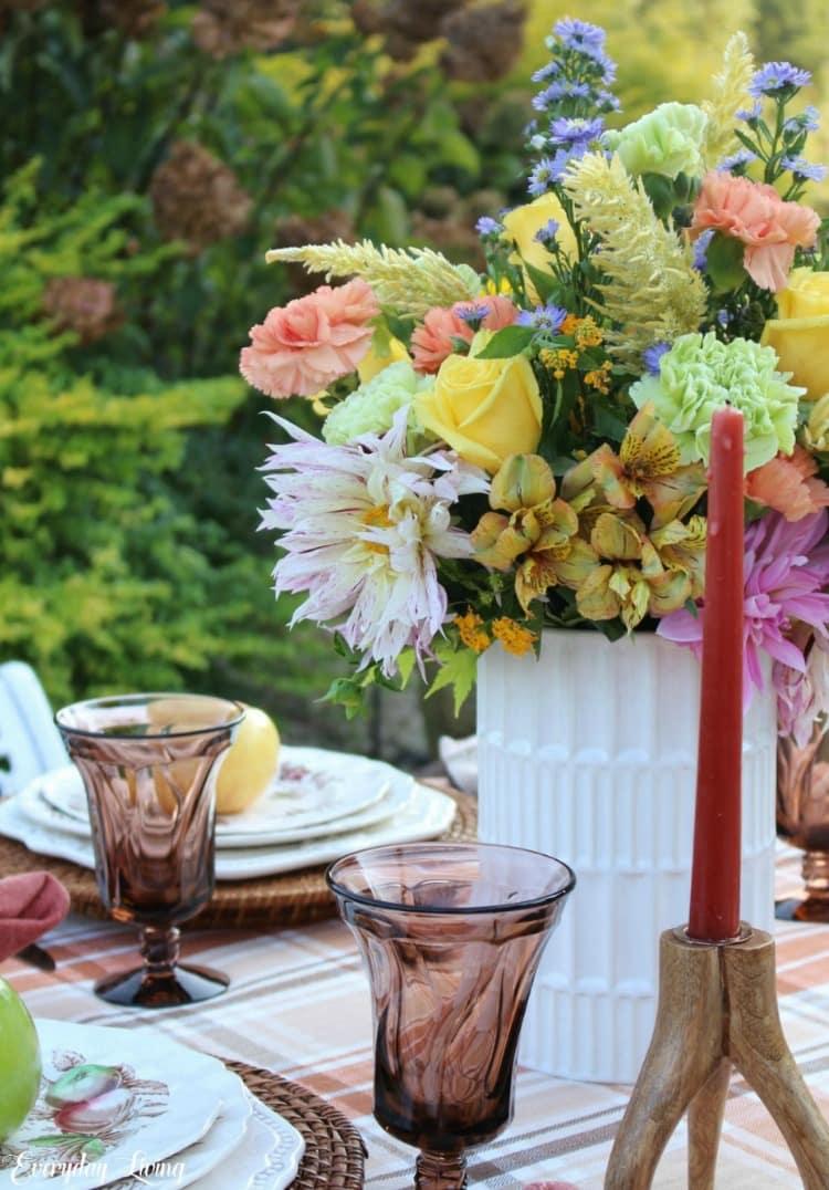 fall floral arrangment