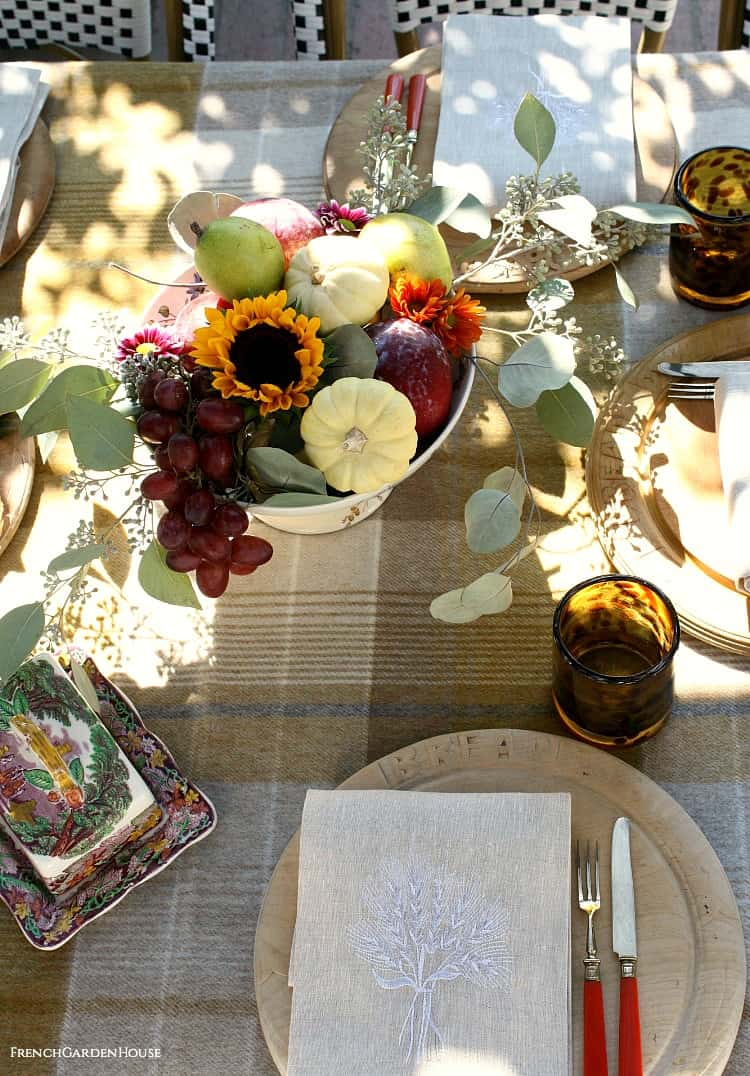 Use What You have centerpiece