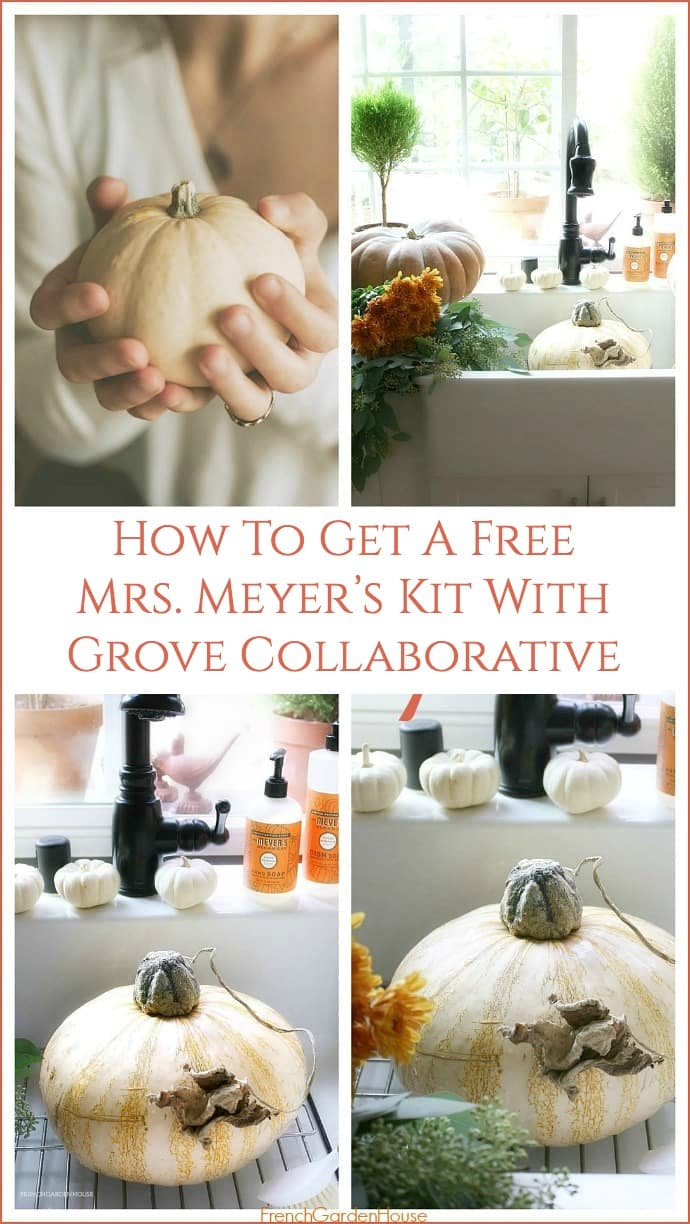 How To Get A Free Mrs. Meyer's Fall Kit With Grove Collaborative