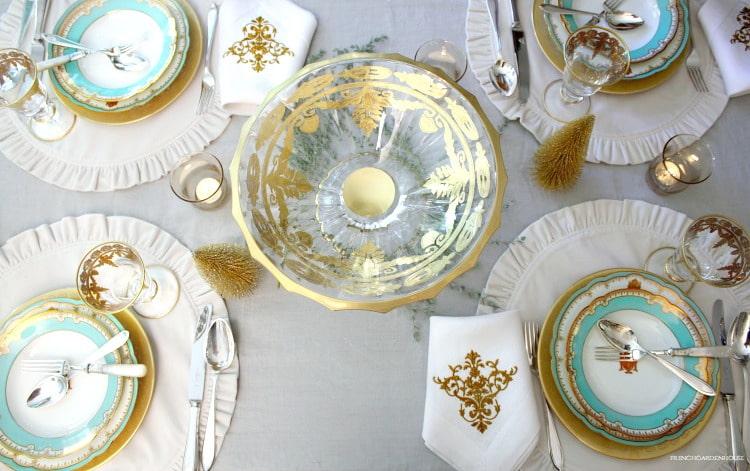 Arte Italica Vetro Gold
