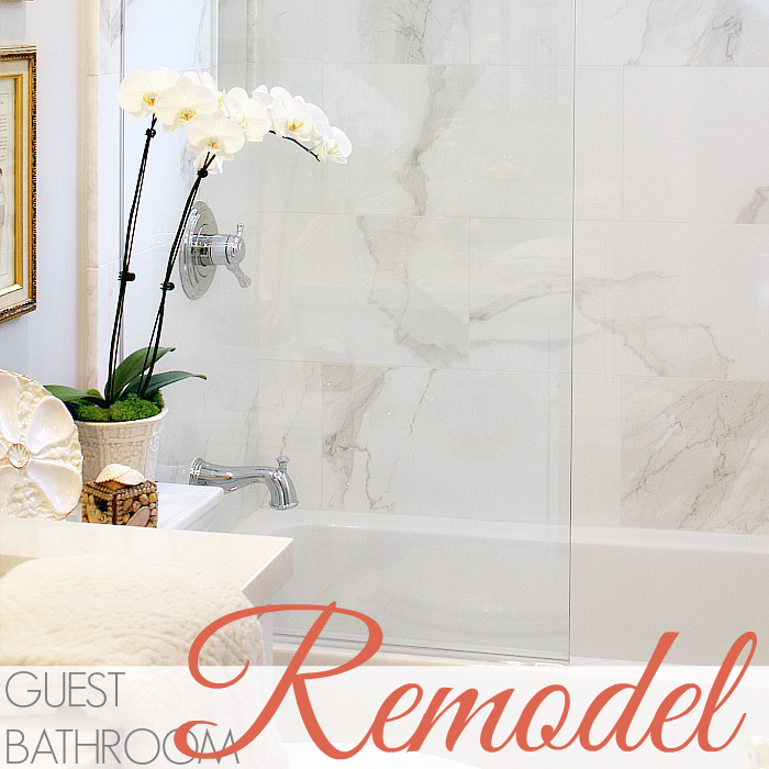 OUR GUEST BATHROOM REVEAL!