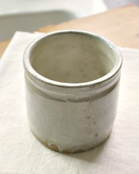 French Farmhouse Gres Stoneware Confiture Pot
