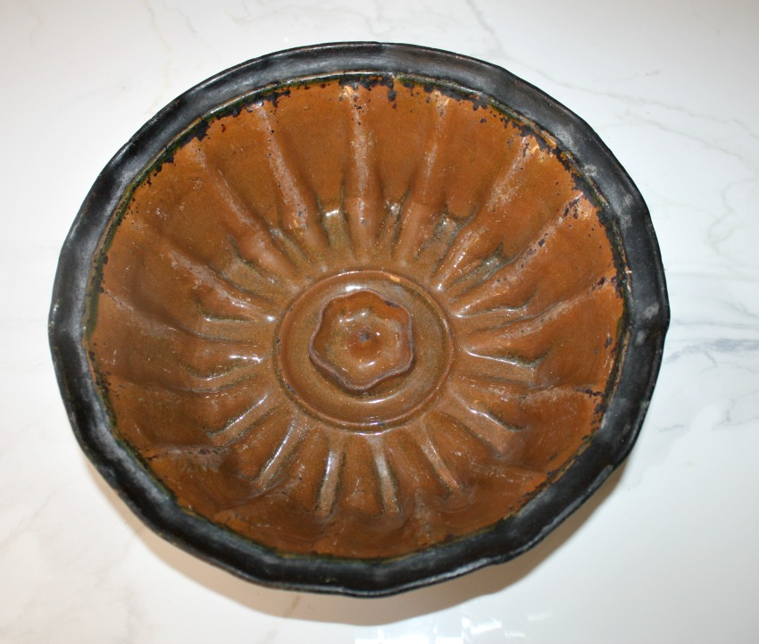 Antique French Country Pottery Mold