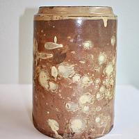 Exceptional Antique French Savoie Pottery Confit Jar