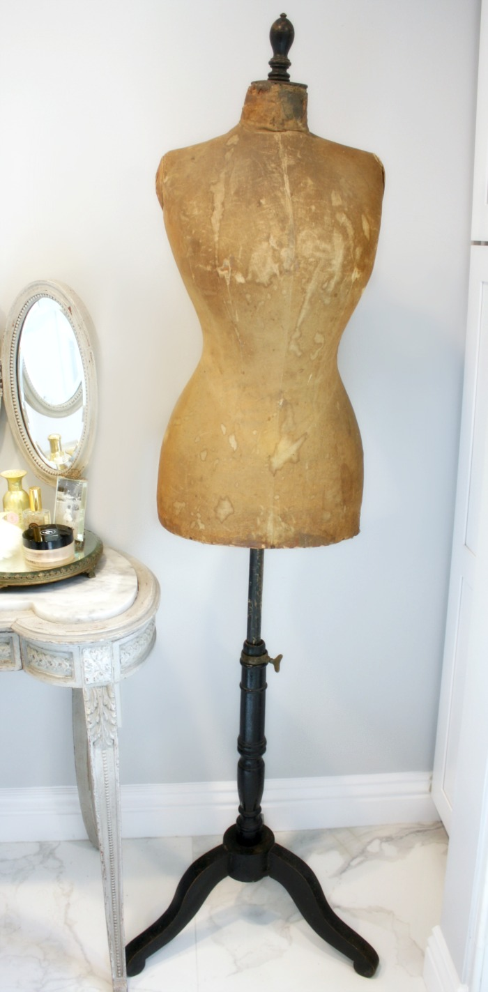 Antique 19th Century French Couturier's Mannequin Maison Deschildre Paris