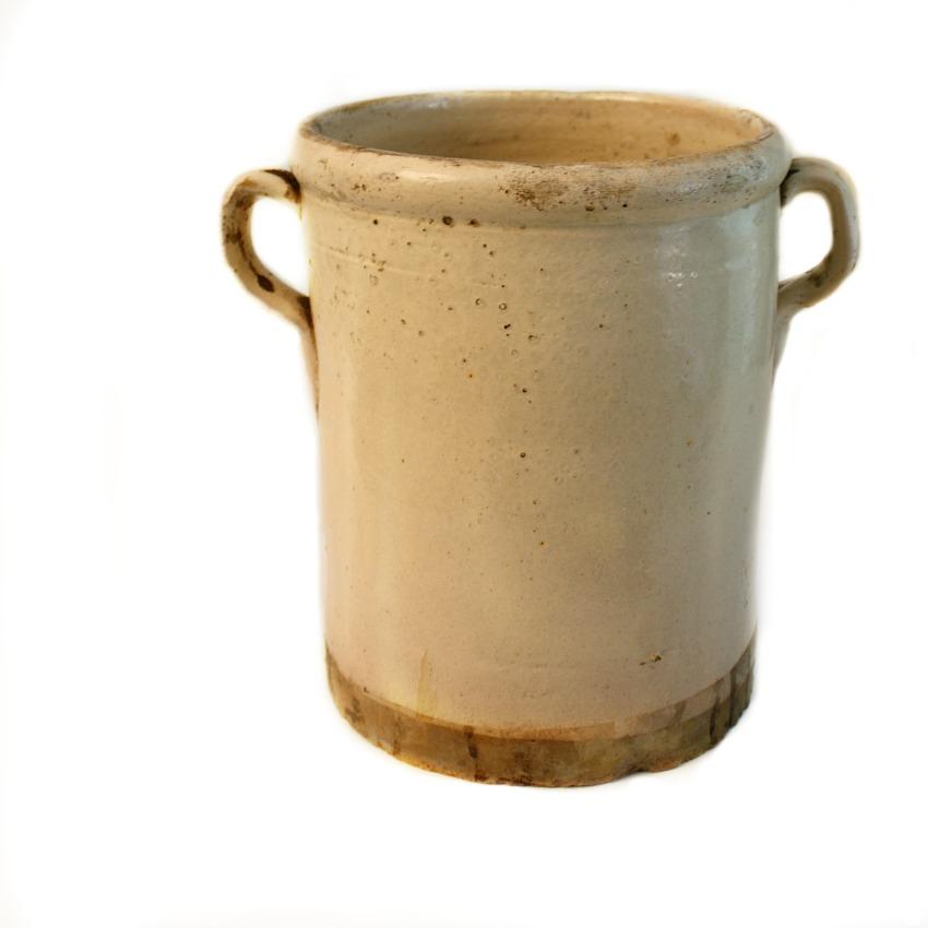 19th Century French Faience Sardine Jar D