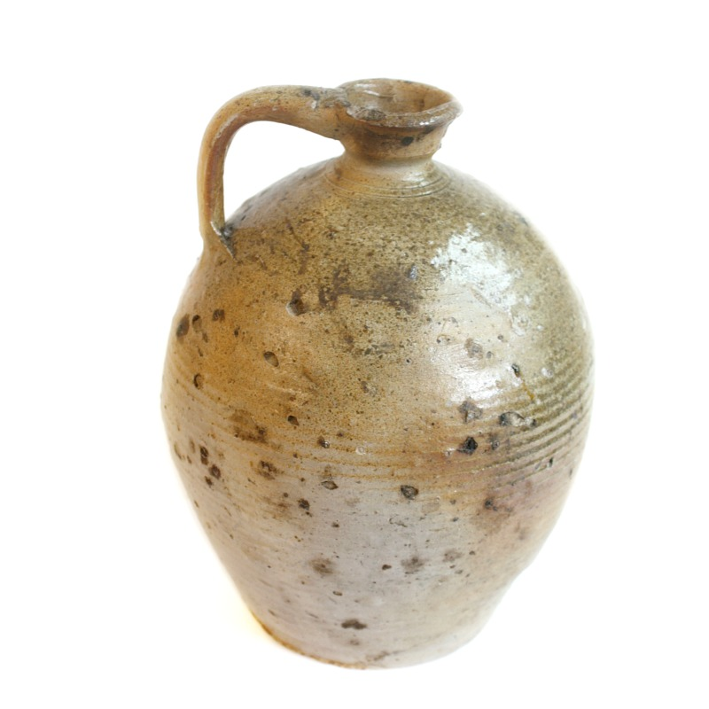 Antique French Farmhouse Olive or Nut Oil Jug