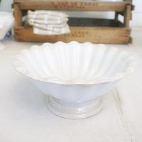 19th Century Antique Staffordshire Ironstone Footed Bowl
