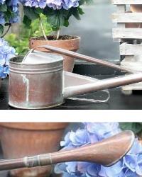 Antique Copper Long Spout Estate Watering Can