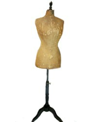Antique 19th Century French Couturier's Mannequin Maison Deschildre Paris