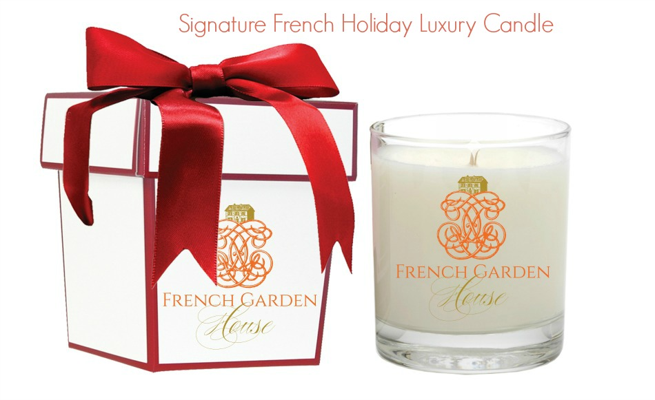 FrenchGardenHouse Signature French Holiday Luxury Candle