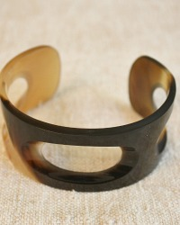 Natural Hand Made Anaya Horn Cuff
