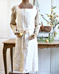 French Hemp Cooking School Apron