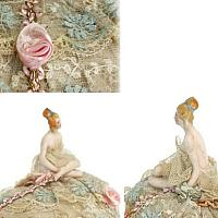 Antique Bathing Beauty Half Doll Pincushion