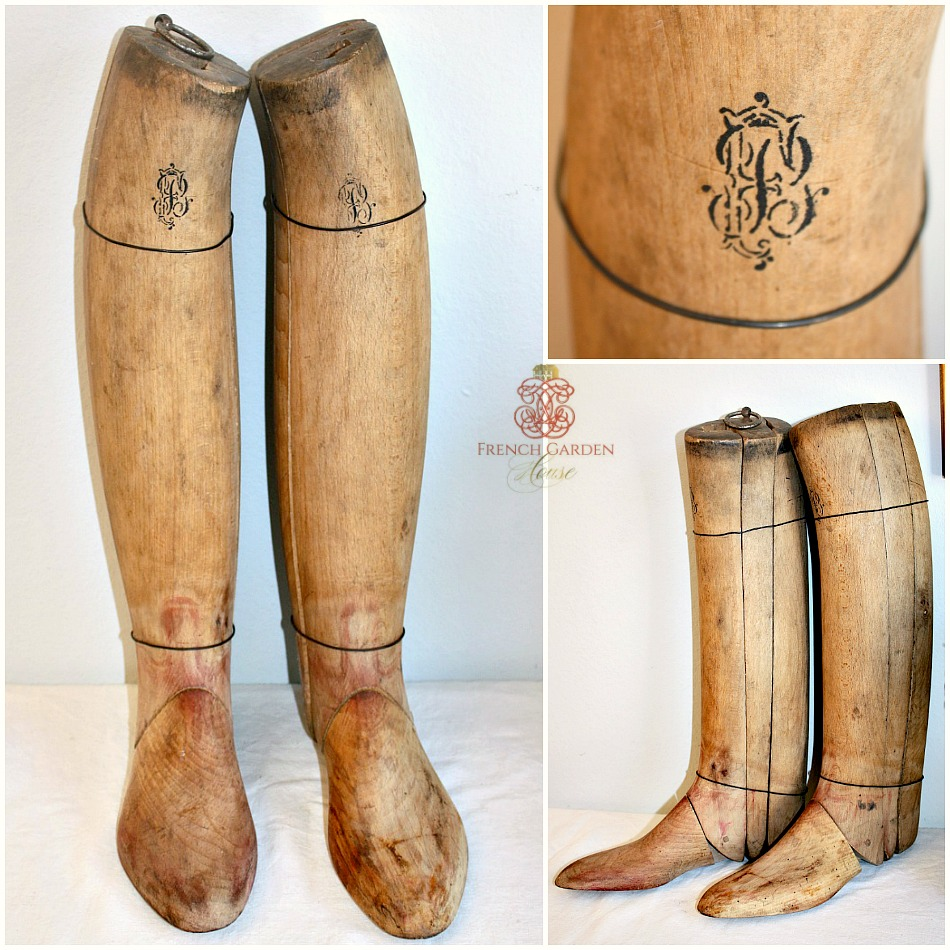 Antique French Riding Boot Forms