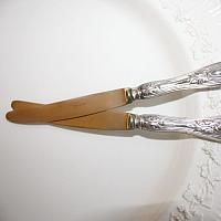 Antique Silver Continental Fruit & Dessert Knife