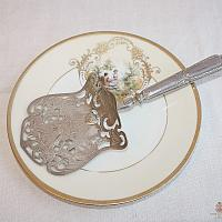 Fabulous Antique Sterling Silver Asparagus or Pastry Server