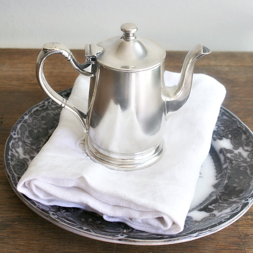 Vintage Hotel Silver Coffee Pot Gwinn's Restaurant
