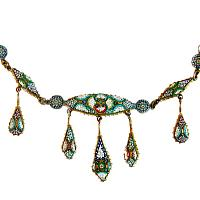 Vintage Italian Tesserae Necklace