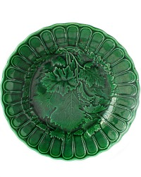 19th Century French Majolica Greenware Plate