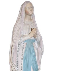 Antique French Chapel Our Lady of Lourdes Madonna
