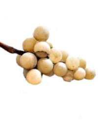 Vintage Italian Cluster of  Alabaster Golden Grapes