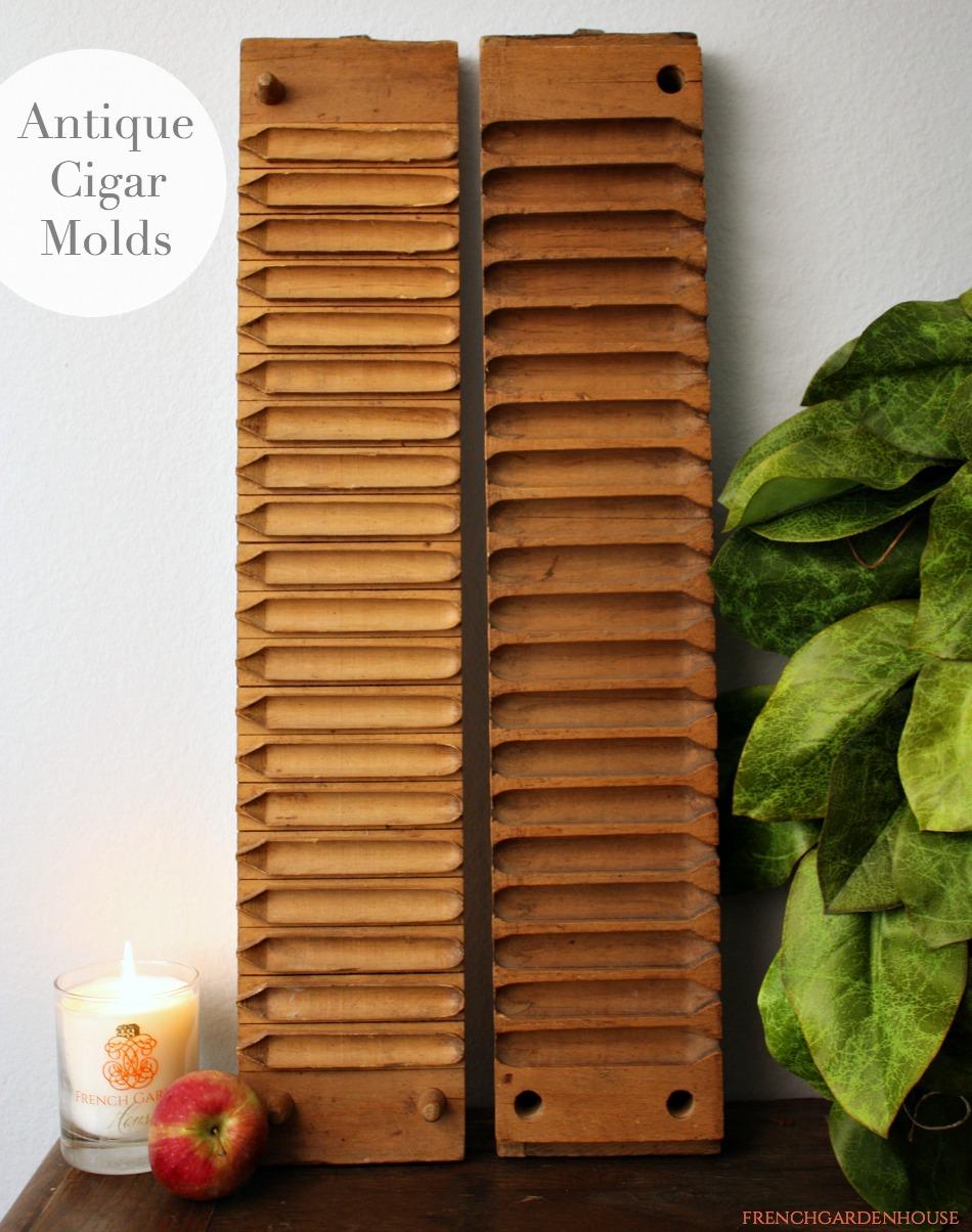 Antique European Wood Cigar Press Mold