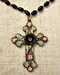 Antique Sacred Cross Necklace