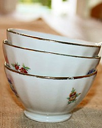 Vintage French Child's or Toy Cafe au Lait Bowl