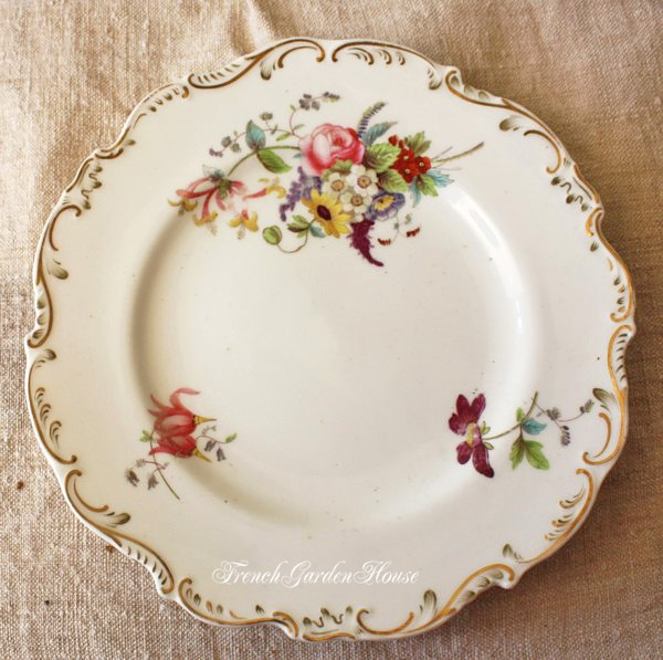 Antique Hand Painted China For Sale