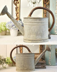 Antique Shabby French Watering Can