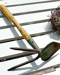 Antique Gardening Hand Tool Garden Hand Hoe
