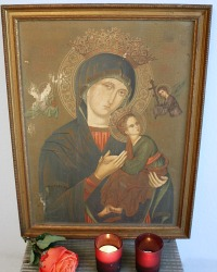 Antique Madonna of Perpetual Help Print
