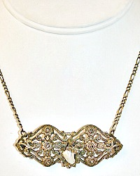 Antique Heirloom Marcasite Necklace