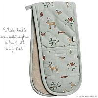 Woodlands Apron & Double Oven Glove Gift Set