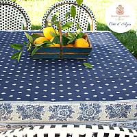 French Avignon Cotton Tablecloth Cote d'Azur
