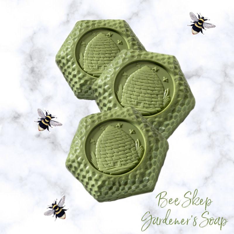 Bee Skep Gardener's Soap Set