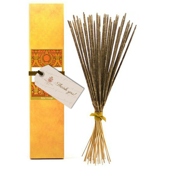 Luxury Bitter Orange Perfumed Burning Sticks