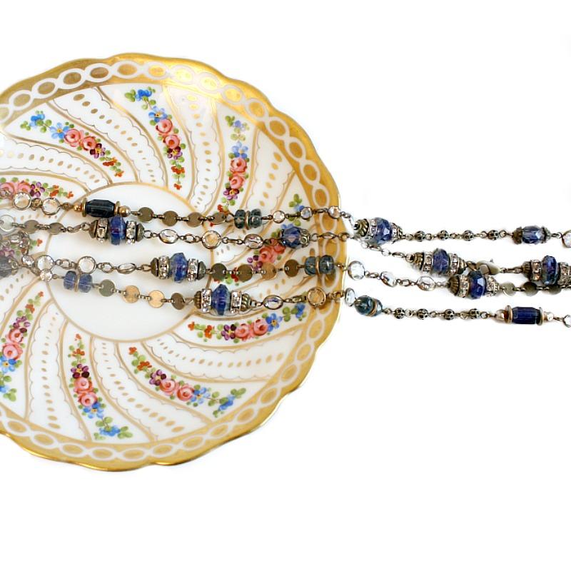 Blue Sky Wrap Necklace