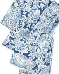 Blue and White Paisley Napkins Set of 4