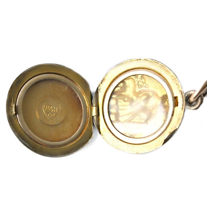 Antique Child's Gold Fill Little Bo Peep Locket