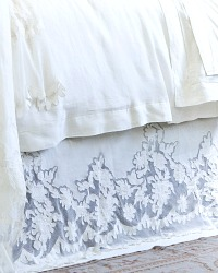 Pom Pom at Home Caprice Bed Skirt Pearl