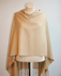 Light Cashmere Wrap French Caramel