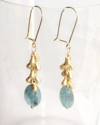 Catherine Waterfall Aventurine Earrings